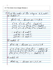 08-1 The Order of an Integer Modulo n.pdf