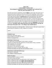Lab Report 3 Guidelines - Water Quality