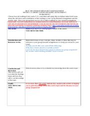 Brief Guided Reading Worksheet