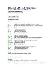 Readme - Oblivion - Oblivion dllv3 1 1codedbyZynastor /www