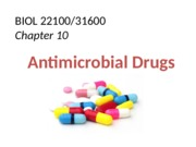 bb10 Antimicrobial Drugs