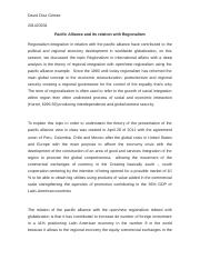 Regionalism integration and the Pacific Alliance.docx