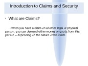 Business Law - 9th Lecture - Credit Agreements (3)