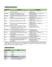 Excel Reference(1)