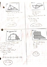 Inscribed angles problems