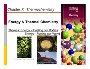 Chapter 7- Thermochemistry