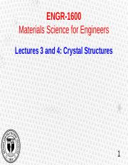 1600_lecture 3 and 4 - Crystal Struc and Miller Index.pptx