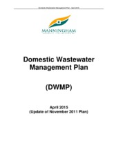 Domestic Wastewater Management Plan 2015