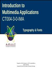 Foundation-IMA-Typography-Chapter 4.ppt