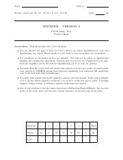 Midterm Solutions Winter 2017