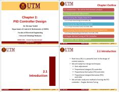 Chapter 2 PID Controller Design - 4 slides