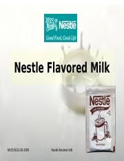 Nestle Flavored Milk