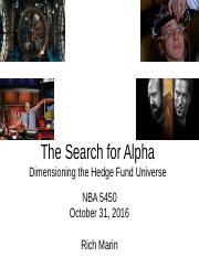 The_Search_for_Alpha___Dimensioning_the_HF_Universe_10_31_16 Final.pptx