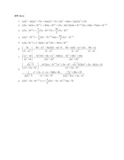 Chapter 3 Solutions