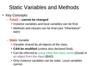 6.0 StaticVariablesMethods