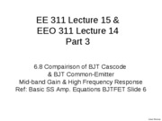 L15Part3 Comparison of BJT Cascode & CE_1