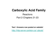 2009 8 Carboxylic acids II