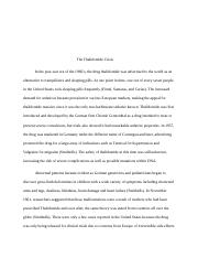 Thalidomide research paper BIO 101.docx