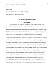 7 2 Final Project I Malpractice Case.docx