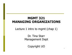 MGMT 321  Lect 1 - chap 1 intro to mgmt   [Compatibility Mode].pdf