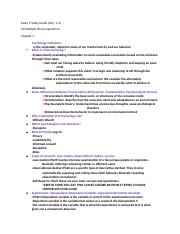 PSY-Exam 1 Study Guide.docx