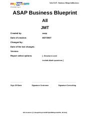 Sap fi business blueprint questionnaire sample fi module sap r3 96 pages questionnairepm malvernweather Gallery