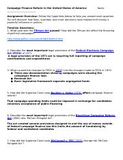 Campaign Finance Hyperlinked Assignment_2014-3