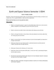 Earth Science Sem 1 Unit 4 Study Guide.docx