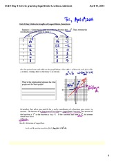 Intro to graphing logarithmic functions