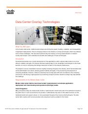 3_Cisco-Data Center Overlay Technologies_pages 1-5,12-15_