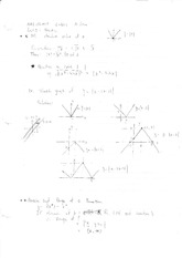MATH 135H1F Lecture Notes