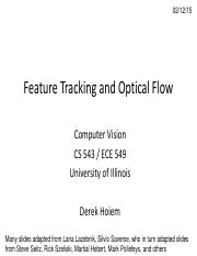 Lecture 08 - Feature Tracking and Optical Flow - Vision_Spring2015.pdf