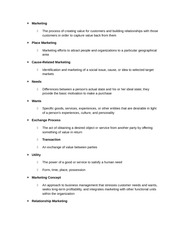Business Honors Class Notes Chapter 13 Notes