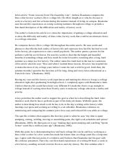some lessons from the assembly line essay Anderson 1 derek anderson instructor coates english 1101 february 27, 2013 summary and response to some lessons from the assembly line in his essay some.