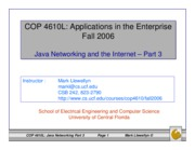 java networking - part 3
