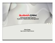 Sugar CRM_Commercial Open Source