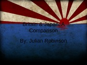 Comparing Japan and England