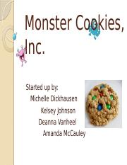 AMcCauley_Monster Cookies, Inc_071714.pptx