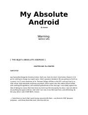 Chap 1 to 5 my absolute android.docx