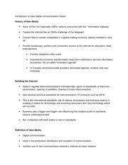 Introduction to New Media communications Notes