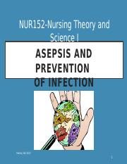 Asepsis and Preventing Infection Student Fall 2017.pptx