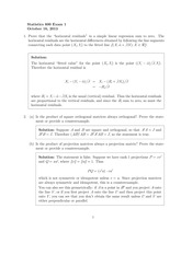 Stat 600 Midterm 2013 Solutions