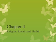 Chapter 4 Religion, Rituals, and Health