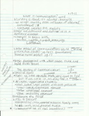 cmcn 203 what is communication notes