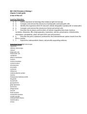BIO 1500 Principles of Biology I Chapter 4 Study Guide.docx