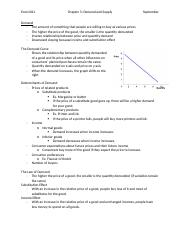 Chapter 3- Demand and supply- Econ.docx