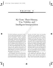 IQ Tests- Their History, Use, Validity, and Intelligent Interpretation (article).pdf