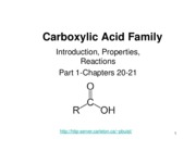 2009 7 Carboxylic acids I