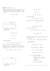 Homework 6 Solution Fall 2007 on Differential Equations with Linear Algebra 1