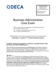 2012_2013_Business_Administration_Core_District_Exam pdf